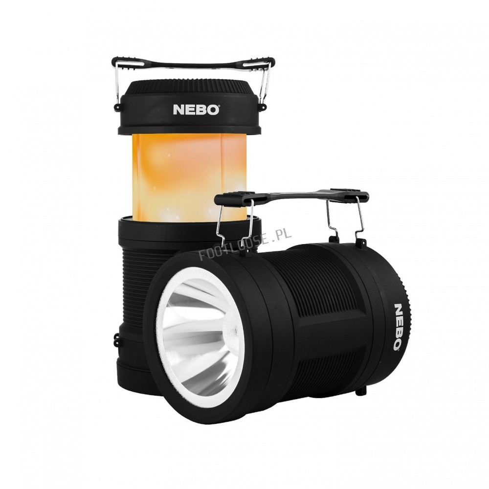NEBO BIG POPPY 4in1 LANTERN + POWER BANK latarka akumulatorowa
